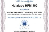 Halalube HFM 100