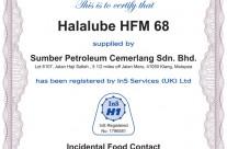 Halalube HFM 68
