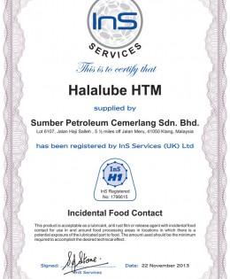 Halalube HTM
