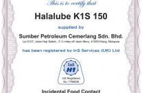 Halalube K1S 150