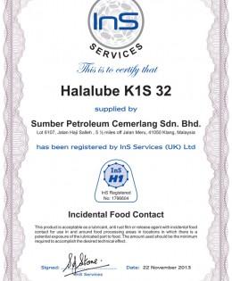 Halalube K1S 32