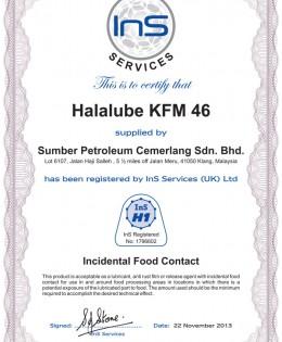 Halalube KFM 46